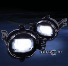 BUMPER LED FOG LIGHTS SMOKE FOR 2002-2009 DODGE RAM 1500/2003+ 2500 3500 PICKUP