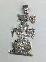 Vintage 925 Sterling Silver Pendant