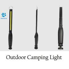 COB LED Camping Rechargeable Slim Worklight Flashlight Magnetic Torch Battery
