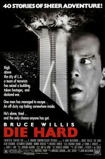 24X36Inch Art DIE HARD Movie Poster RARE Bruce Willis P06