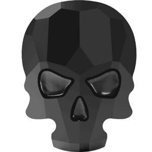 Skull flat back hot fix 2856 10x7.5mm Jet Swarovski© Crystal -10 pack