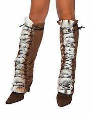 Native American Legwarmers Indian Legwarmers LW4206 Roma Lace Up Legwarmers