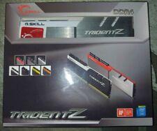 G.SKILL TRIDENT Z 32GB 2x16GB DDR4 3200 mhz RAM MEMORY F4-3200C16D-32GTZSW