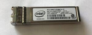 Intel FTLX8571D3BCV-IT E10GSFPSR E65689-001 Ethernet SFP SR for X520-DA2/SR2