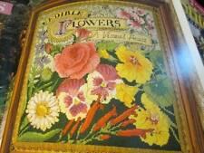 Cross Stitch & Needlework Magazine June 1998-Edible Flowers/Bridal Store/Sum