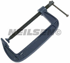 """8 """" / 200 mm   G CLAMP   vice    200mm  x  82mm"""