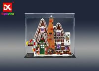 Display King-display case for Lego Gingerbread House 10267(Aus Top Rated Seller)