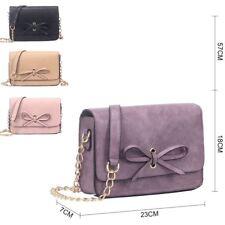 New Womens Small Designer Style Cross Body Bag Ladies Tote Shoulder Handbag Bag