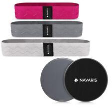 Fitness Bänder Set Widerstandsbänder Fitnessbänder mit Gleitscheiben und Tasche