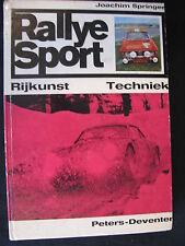 Peters' Book Rallye Sport Rijkunst Techniek Joachim Springer (Nederlands)