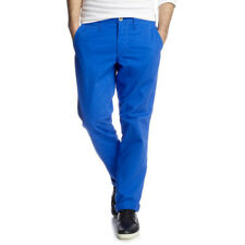 New Esprit 31 W31 L32 Pants Mens Chino Slim Fit Straight Leg Pocket Casual B221