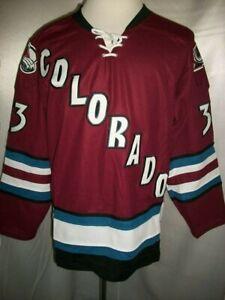 "Patrick Roy Colorado Avalanche Burgundy ""2001-2007 Throwback"" CCM NHL Jersey"