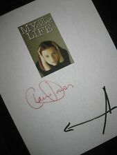 My So Called Life Signed Tv Script X2 Claire Danes Jared Leto Dancing In Dark Rp
