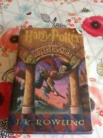 Harry Potter and the Sorcerers Stone First Edition 1998 HardCover Book *WoW*
