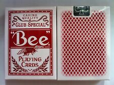 1 deck Red Bee Stingers Club Special Playing Cards Theory11-S10219920-甲C3