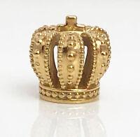 Genuine Pandora Crown Jewels Royal Crown Charm 14K Gold Vermeil 790930