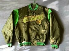 Men's vtg Jersey Express minor league Kent County Cougars satin jacket size XL