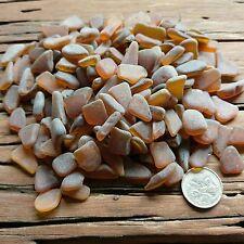 Genuine Natural Sea Glass Beach Glass - Small Seaglass Brown