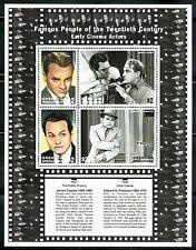 SELLOS TEMA CINE. GRENADA GRENADINES 1999 ACTORES. JAMES CAGNEY/EDWARD G. ROBINS
