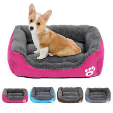 Warm Dog Bed Puppy Cushion House Soft Pet Kennel Cover Cage Mat Dog Blanket