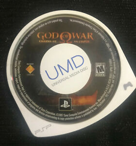 God of War: Chains of Olympus black label (Sony PSP, 2008) UMD Only Tested
