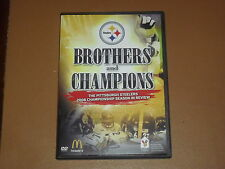 Brothers and Champions, Pittsburgh Steelers 2008 Champions Season in Review