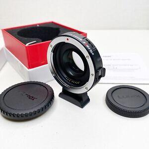 Viltrox EF-M2 II SpeedBooster 0.71x Mount Adapter Canon EF to M43 MFT