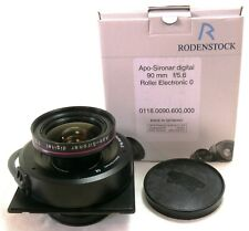 Rodenstock Apo Sironar Digital 90mm f/5.6 lens in Rollei Electronic 0 shutter