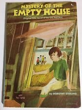 Mystery of the Empty House by Dorothy Sterling 5th Printing PB 1971