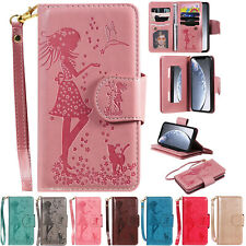 9 Cards Magnetic Pattern Wallet Leather Stand Case Cover For iPhone 11 Pro Max