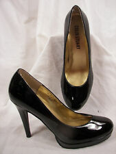 Gently Used Colin Stuart Black Patent Classic Platform High Heels 6M L@@K!!!!