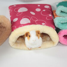 Winter Warm Pet Nest Hamster Bed Hedgehog Squirrel Sleeping Bag Guinea Pig Beds