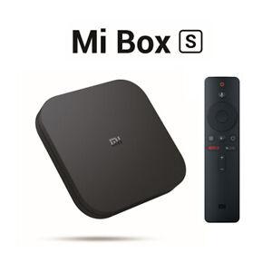 Global Xiaomi Mi Box S 4K Ultra HD Set-Top Box Media Player Android TV WiFi 5GHz