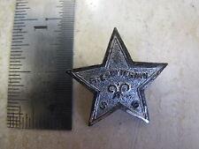Pin. Silver Plate Vintage Presbyterian Star