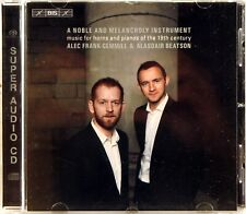 BIS SACD Noble & Meloncholy Instrument FRANK-GEMMILL BEATSON (CD, 2017, EU) 2228