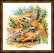 Cross stitch kit RIOLIS #1636 Desert Foxes