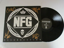 NEW FOUND GLORY AUTOGRAPHED SIGNED VINYL ALBUM WITH EXACT SIGNING PICTURE PROOF