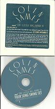 COLIN JAMES Four Song Swing Set SAMPLER PROMO DJ CD single 1998 USA PRCD 1201