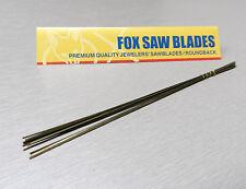 Saw Blades Jewelry Making 12 Blades for Jewelers Saw Frame #4 Fox Brand Germany