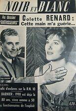 COLETTE RENARD en COUVERTURE de NOIR et BLANC No 943 de 1963