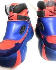 Swear Blue and Orange Sneakers 4 inch Platform Men's sz 11 / EU 45 RARE leather
