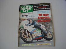 MOTOSPRINT 25/1978 PROVA TEST MOTO LAVERDA 350