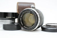 【 EXC++++ 】 CANON 50mm F1.8 L39 Leica Screw Mount W/ Lens Hood From JAPAN