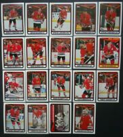 1990-91 Topps Chicago Blackhawks Team Set of 19 Hockey Cards