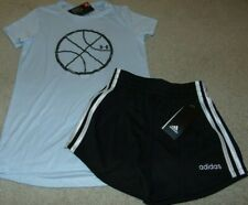 ~NWT Girls UNDER ARMOUR & ADIDAS Outfit! Size YMD 10-12 Super Cute FS:)~