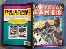 BOOK THE 2ND GIANT BOOK OF GAMES MAGAZINE TIMES BOOKS 1995 B & P PUBLISHING FIRS