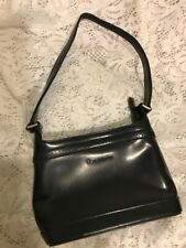 LIZ CLAIBORNE BLACK SMALL SHOULDER BAG EUC