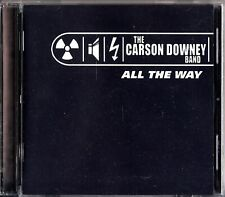 The Carson Downey Band - All The Way CD 2000 Donny Muir Hammond B3 Keyboard