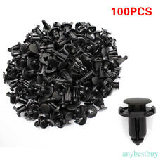 100pcs 8mm Hole Fender Liner Fastener Rivet Push Clips for Nissan Car Accessory