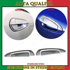 Copri Maniglie Cromate 2 porte Acciaio Cromo Fiat Grande Punto VAN COUPE 2005+